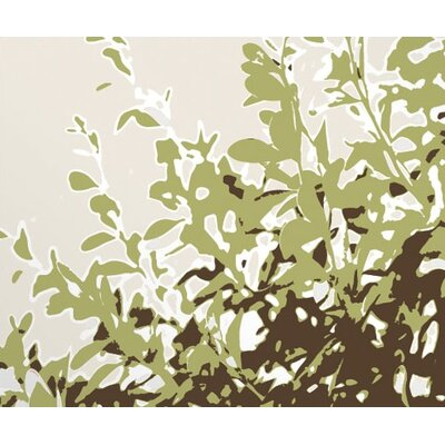 Inhabit Foliage Stretched Wall Art in Grass