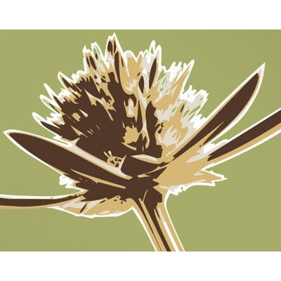 Inhabit Botanicals Propeller Stretched Graphic Art on Canvas in Grass