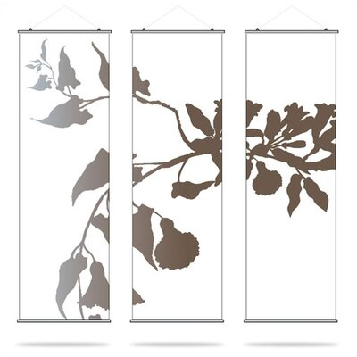 Inhabit Soak Morning Glory Slat Wall Hanging