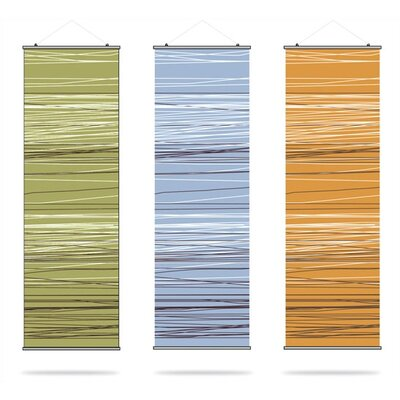 Inhabit Rhythm Rain Slat Wall Hanging