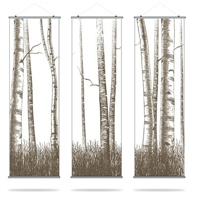 Inhabit Madera Timber Slat Wall Hanging