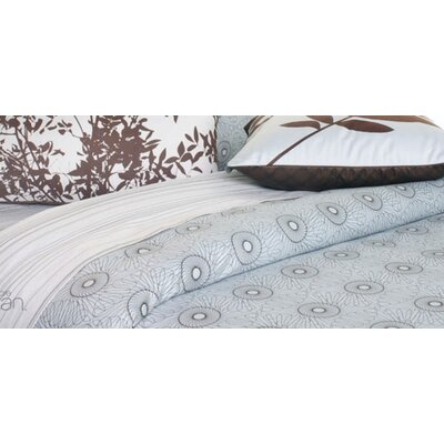 Inhabit Rhythm Cotton Bedding Collection in Sky