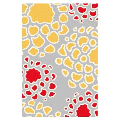 Mum Rug in Scarlet/ Mustard