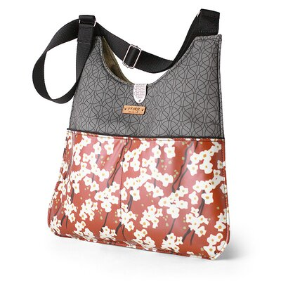 Inhabit Nixon Flowering Pyrus Handbag in Rust