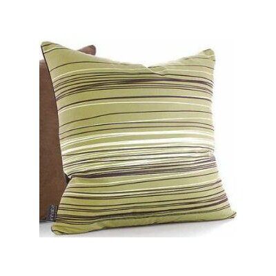 Inhabit Rhythm Rain Suede Throw Pillow