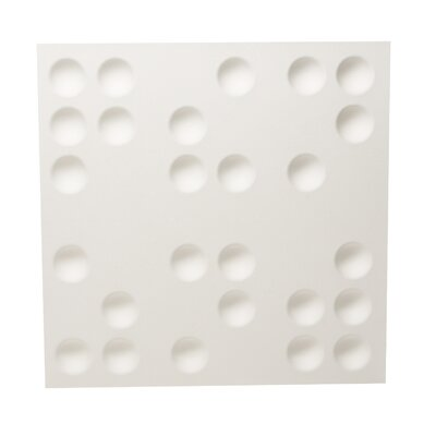 Inhabit Braille Wall Flat (Set of 10)