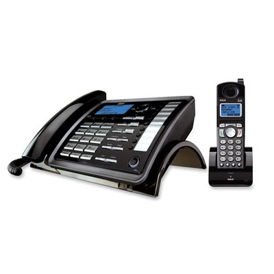 RCA Products Visys 2-Line Corded/Cordless Phone System with Answering System
