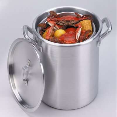 King Kooker Stock Pot and Basket with Lid