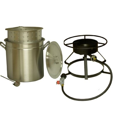 King Kooker Bolt Together Outdoor Cooker Package