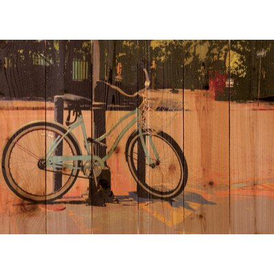 Gizaun Art Blue Cruiser Wall Art