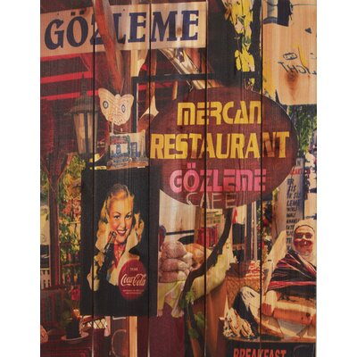 Gozleme Cafe Wall Art