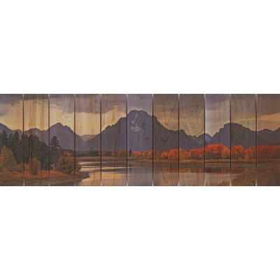 Gizaun Art Mountain Paradise Wall Art