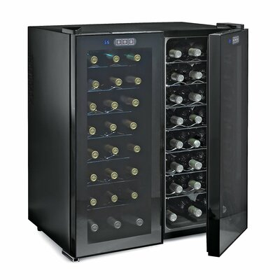 Wine Enthusiast 48 Bottle Dual Zone Touchscreen Wine Cooler