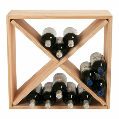 Wine Enthusiast Companies 24 Bottle Wine Rack