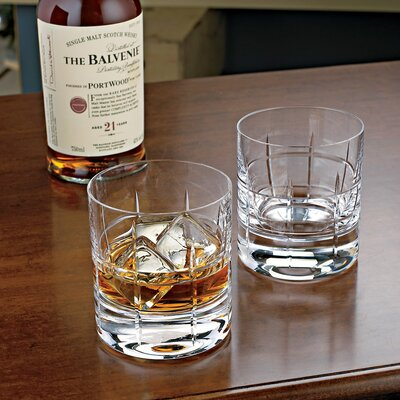 Wine Enthusiast Soho Bar Glass (Set of 2)