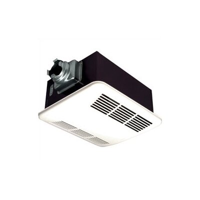 panasonic whisperwarm 110 cfm ceiling exhaust bath fan. Black Bedroom Furniture Sets. Home Design Ideas
