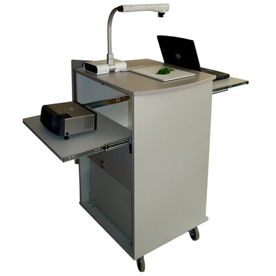 Woodware Furniture Media Pro Presentation Cart
