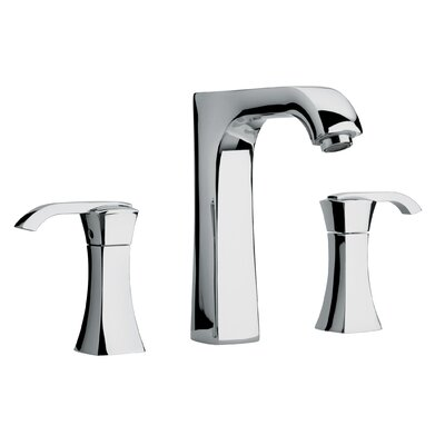 Jewel Faucets J11 Bath Series Two Lever Handle Roman Tub Faucet with Arched Spout