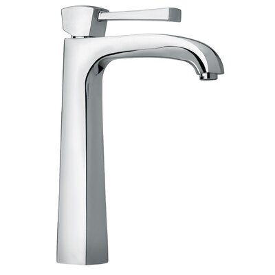 J11 Bath Series Single Lever Handle Tall Vessel Sink Faucet with Arched Spout - 11205 ...