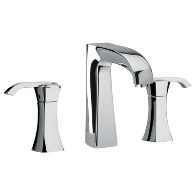 Jewel Faucets J11 Bath Series Two Lever Handle Widespread Bathroom Faucet with Arched Spout