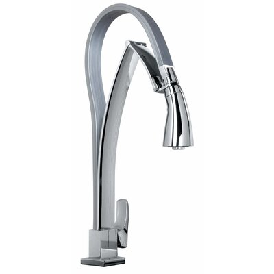 J25 Kitchen Series Single Hole Kitchen Faucet with Dual Function Pull Out Spout