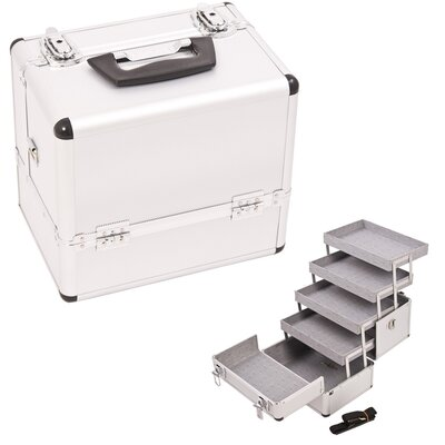 Just Case Professional Cosmetic Makeup Train Case