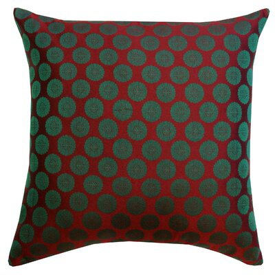 Divine Designs Charlie Brocade Cotton Pillow