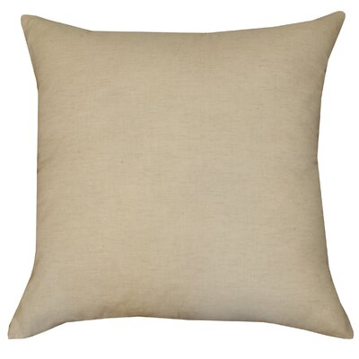 Divine Designs Applique Trellis Cotton Pillow