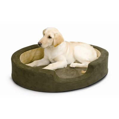 K&H Manufacturing Snuggly Sleeper Heated Dog Bed