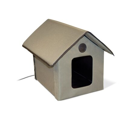 K&H Manufacturing Outdoor Heated Kitty House