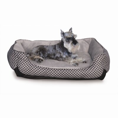 K&H Manufacturing Self Warming Lounge Sleeper Bolster Dog Bed