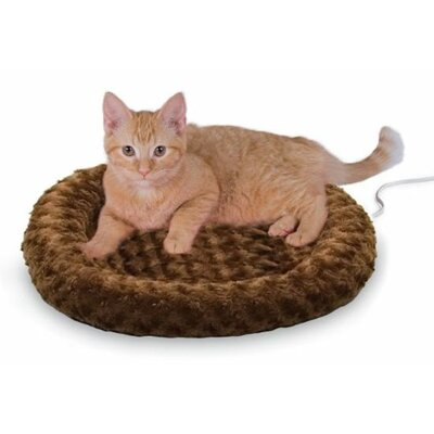 K&H Manufacturing Heated-Kitty Fashion Splash Bed