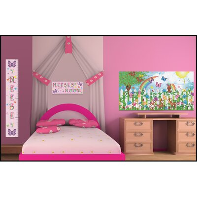 Mona Melisa Designs Name Sign Butterfly Girl