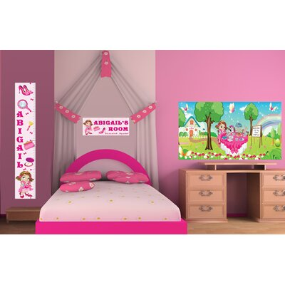 Mona Melisa Designs Fancy Girl Wall Mural