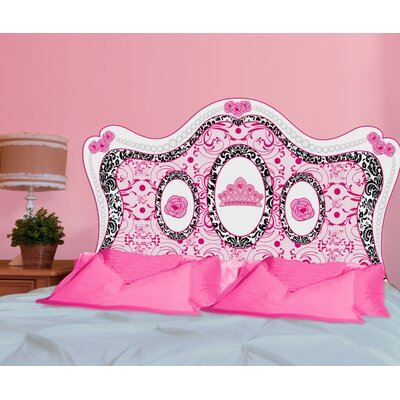Mona Melisa Designs Fancy girl decal headboard full