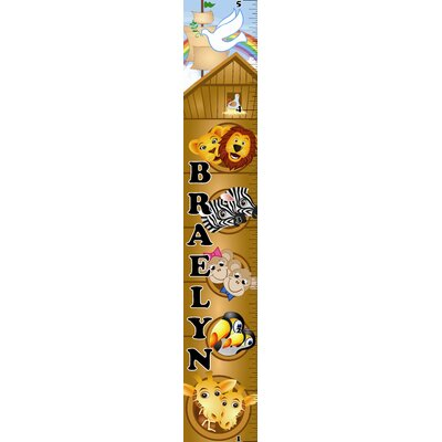 Mona Melisa Designs Noah's Ark Growth Chart