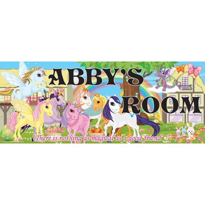 Pony Name Sign