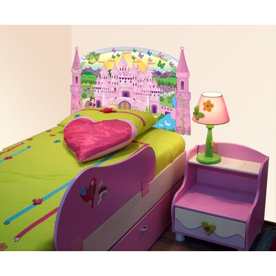 Mona Melisa Designs Princess decal headboard