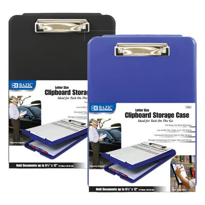Bazic Clipboard Storage Case (Set of 12)