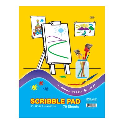 Bazic Scribble Pad (Set of 48)