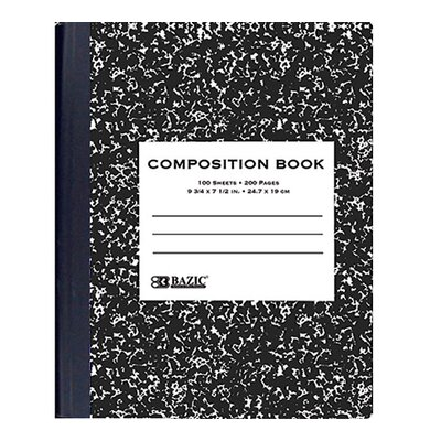 Bazic Marble Composition Book
