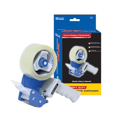 Bazic Heavy-Duty Packing Tape Dispenser