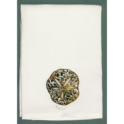 Coastal Sand Dollar Hand Towel