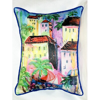Coastal Fun City II Indoor / Outdoor Pillow