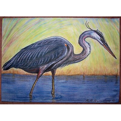 Betsy Drake Interiors Great Blue Heron Placemat