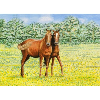 Betsy Drake Interiors Horses Place Mat (Set of 4)