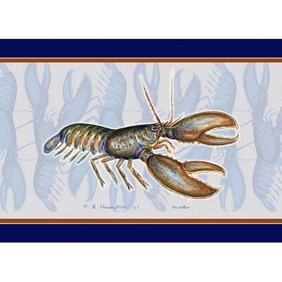 Lobster Placemate (Set of 4)