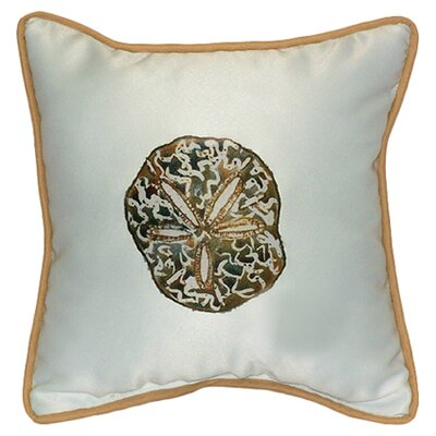 Coastal Sand Dollar Indoor / Outdoor Pillow