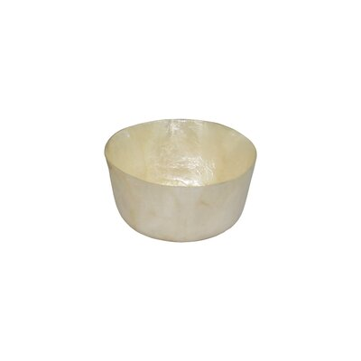 "Dekorasyon Gifts & Decor Capiz 3.5"" Mini Bowl"