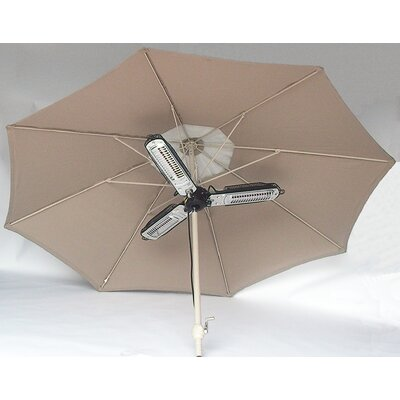 EnerG+ Umbrella Electric Patio Heater